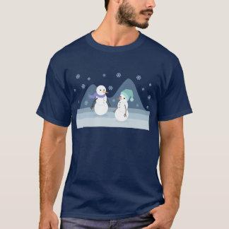 雪だるまの友人 Tシャツ