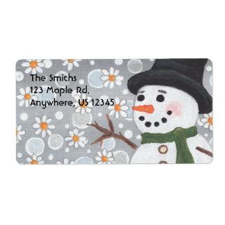 雪だるまの吹雪、Smiths123かえでRd.Anywh… ラベル