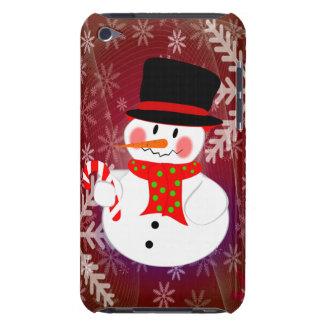 雪だるま及びCandycane Case-Mate iPod Touch ケース