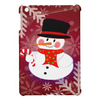 雪だるま及びCandycane iPad Miniカバー