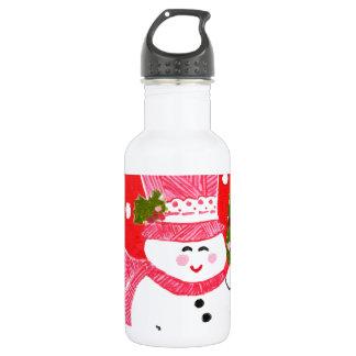 雪だるま ウォーターボトル