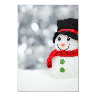 雪だるま カード