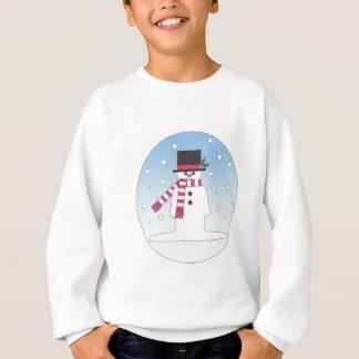 雪だるま スウェットシャツ