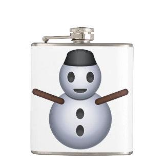 雪だるま- Emoji フラスク