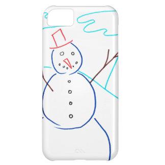 雪だるま iPhone5Cケース