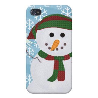 雪だるまI iPhone 4 カバー