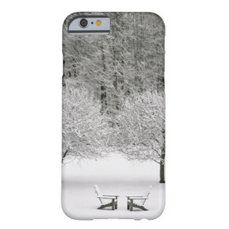 雪で覆われた景色 BARELY THERE iPhone 6 ケース
