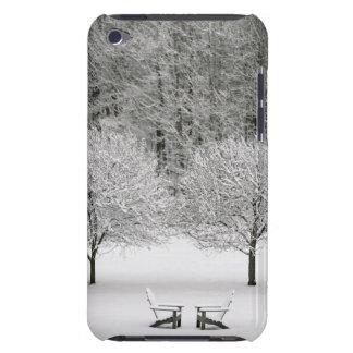 雪で覆われた景色 Case-Mate iPod TOUCH ケース