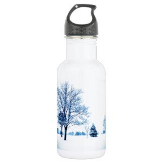 雪に立つこと ウォーターボトル
