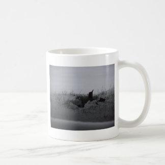 雪のキツツキ コーヒーマグカップ