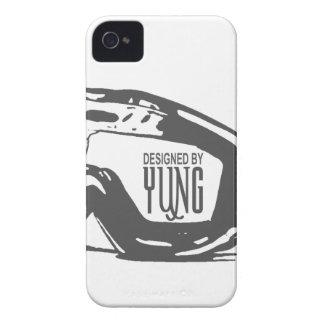 雪のギョロ目の電話箱 Case-Mate iPhone 4 ケース