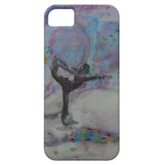 雪のダンサー- iPhone SE + iPhone 5/5sの場合 iPhone SE/5/5s ケース