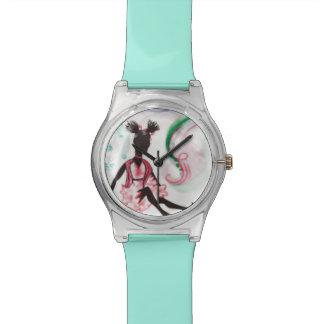 雪のダンス 腕時計