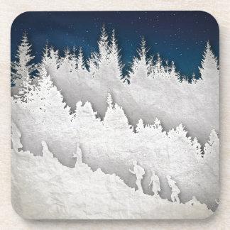 雪のハイキング コースター