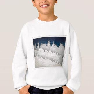 雪のハイキング スウェットシャツ