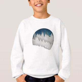 雪のハイキングII スウェットシャツ