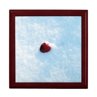 雪のハート ギフトボックス