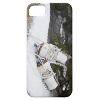 、雪のフィギュアスケートはアイススケートします iPhone SE/5/5s ケース