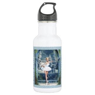 雪のプリンセスのバレリーナのクリスマスのマグ ウォーターボトル