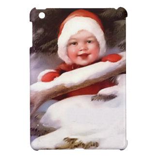 雪のベビー iPad MINIカバー