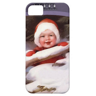 雪のベビー iPhone SE/5/5s ケース