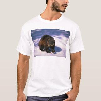 雪のミシガン州人 Tシャツ