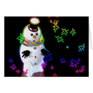 雪の人 カード