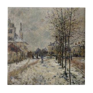 雪の効果、Argenteuの通りde Pontoise タイル