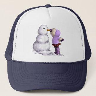 雪の友人 キャップ