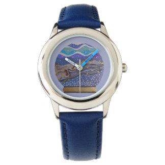 雪の地球2 腕時計