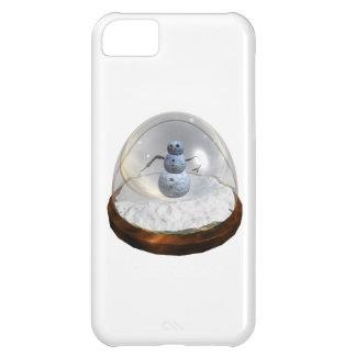 雪の地球 iPhone5Cケース