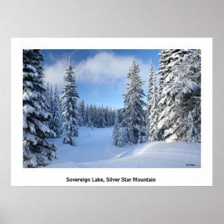 雪の天国 ポスター