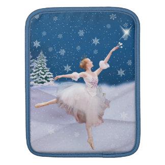 雪の女王のバレリーナ iPadスリーブ