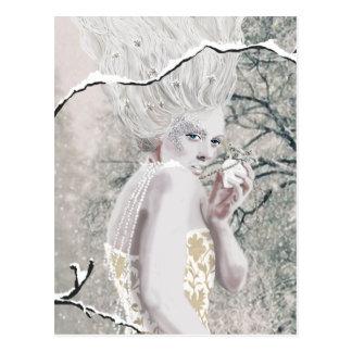 雪の女王 ポストカード