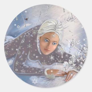 雪の女王! ラウンドシール