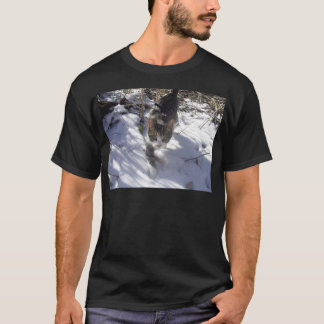 雪の子ネコ Tシャツ