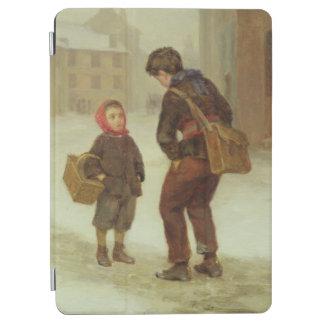 雪の学校への方法、1879年 iPad AIR カバー