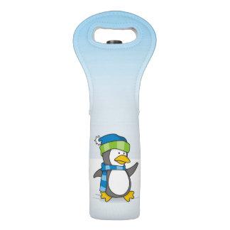 雪の小さいペンギンの歩く ワイントート