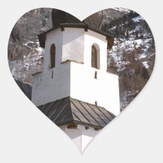 雪の山教会 ハートシール