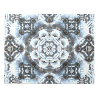 雪の平静の曼荼羅 ノートパッド