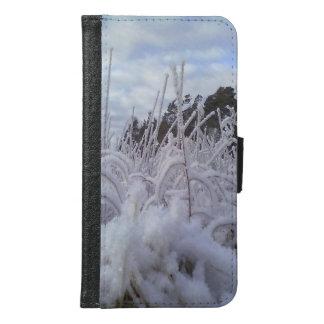 雪の景色 GALAXY S6 ウォレットケース