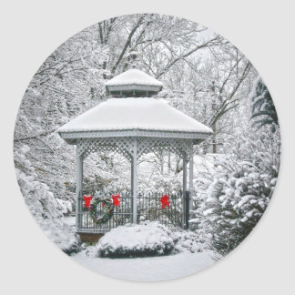 雪の望楼 ラウンドシール
