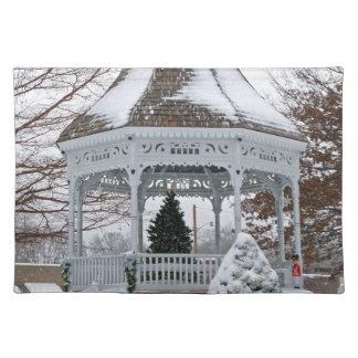 雪の望楼 ランチョンマット