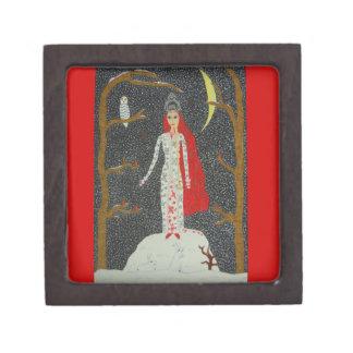 雪の未婚の(赤い版)優れたギフト用の箱 ギフトボックス