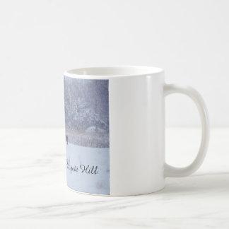 雪の犬 コーヒーマグカップ