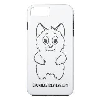 雪の獣は基本的な電話箱を見直します iPhone 8 PLUS/7 PLUSケース