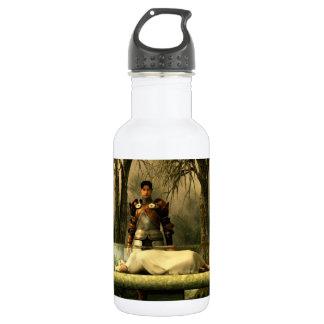 雪の白のガラス棺 ウォーターボトル