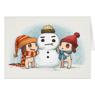 雪の相棒 カード