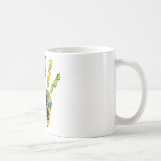 雪の移動式甲革 コーヒーマグカップ