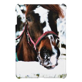 雪の美しい iPad MINIケース